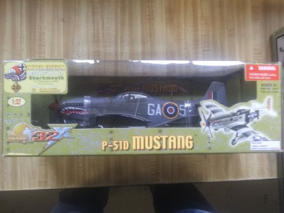 Picture of P-51D Mustang - WW2 plane
