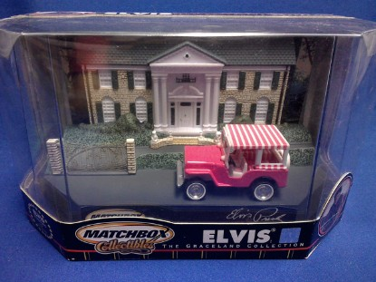 Picture of 1960 Surrey Jeep(Elvis Collection) -pink