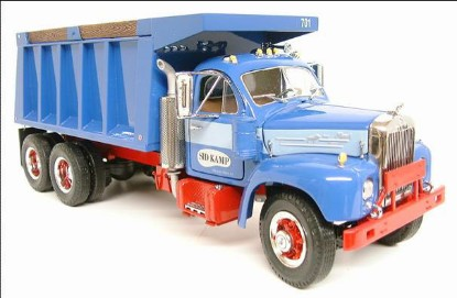 Picture of 1960 Mack Model B-61 Dump - SID KAMP