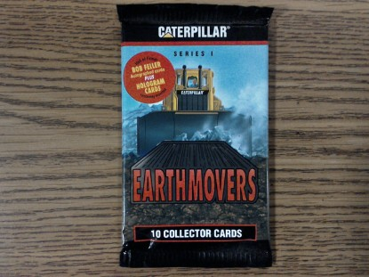 Picture of Caterpillar cards foil pack Series I (10 CARDS)