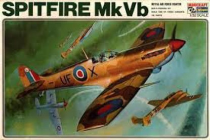 Picture of Supermarine Spitfire Mk Vb Royal Air Force Fighter