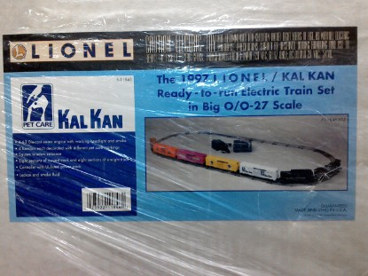 Picture of 1997 Kal Kan Ready to Run Electric Train Set