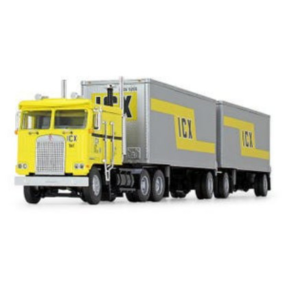 Picture of Kenworth K100 Flattop with Wabash® Dual Pup Trailers - ICX