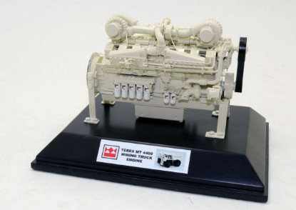 Picture of Cummins K2000E engine - brass Terex MT4400 white