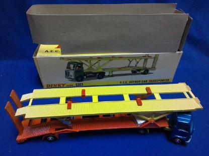 Picture of AEC Hoynor car transporter