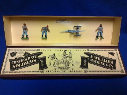 Picture of ACW Confederate Williams machine gun and crew