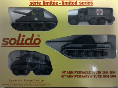 Picture of 40th Anniversary D-Day set B  Mk4,Sherman, +