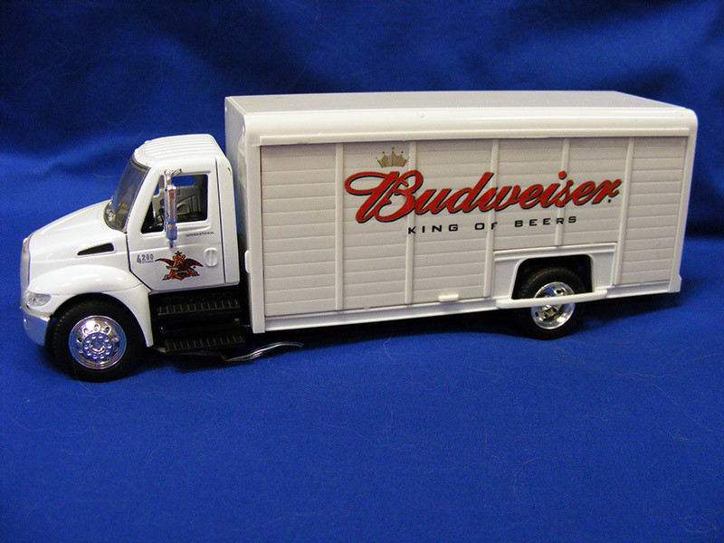 Budweiser delivery truck by New Ray