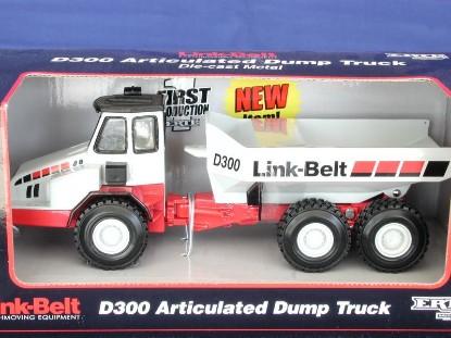 link-belt-d300-articulated-dump-truck-ertl-ERT13193