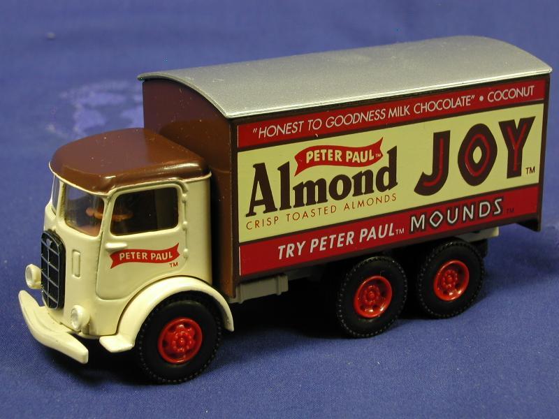 Buffalo Road Imports Mack Cj Almond Joy Truck Diecast Model Hartoy