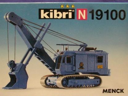 menck-crane-w-shovel-kibri-KIB19100
