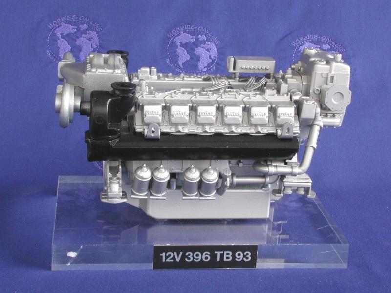 MTU 12 CY diesel engine