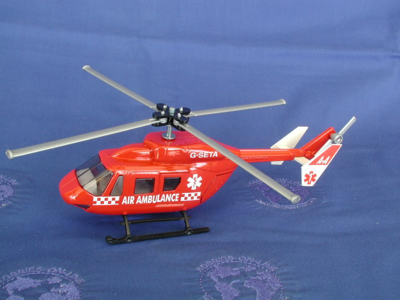 Helicopter AIR ambulance UK version