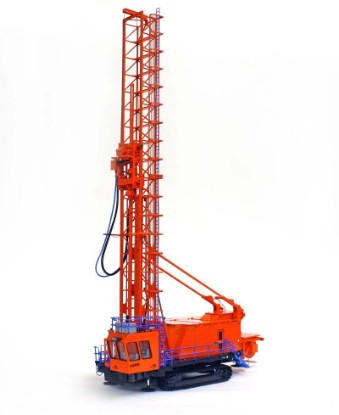 bucyrus-49r-blast-drill-orange-blue-1023--twh-collectibles-TWH022-OB