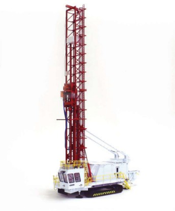 bucyrus-49r-blast-drill-white-red-1050--twh-collectibles-TWH022-WR