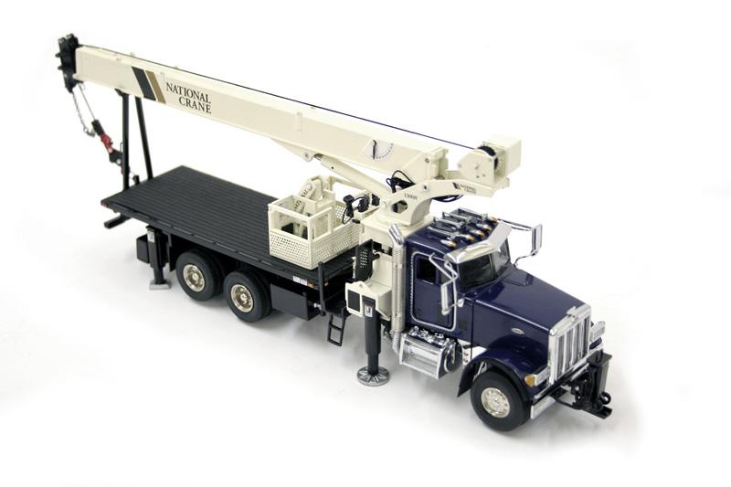 National Crane 1300H boom truck blue/white