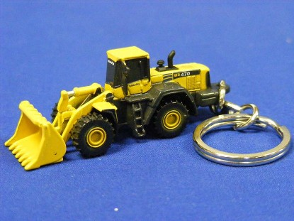 komatsu-wa470-wheel-loader-keyring-universal-hobbies-limited-UHL5526