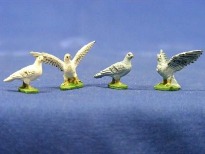 pigeons-4--elastolin-by-preiser-ELA5328