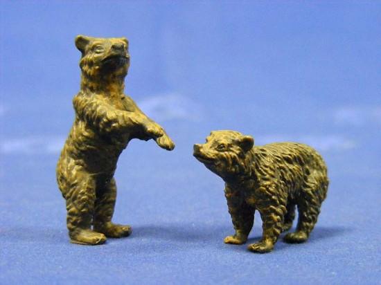black-bear-cubs-2--elastolin-by-preiser-ELA5414