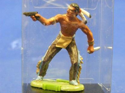 indian-with-gun-and-knife-elastolin-by-preiser-ELA7106