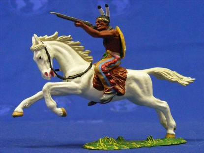 indian-on-horse-with-rifle-elastolin-by-preiser-ELA7126