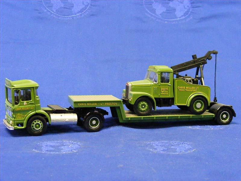 Aec Ergom Semi Lowboy Tow Truck Chris Miller