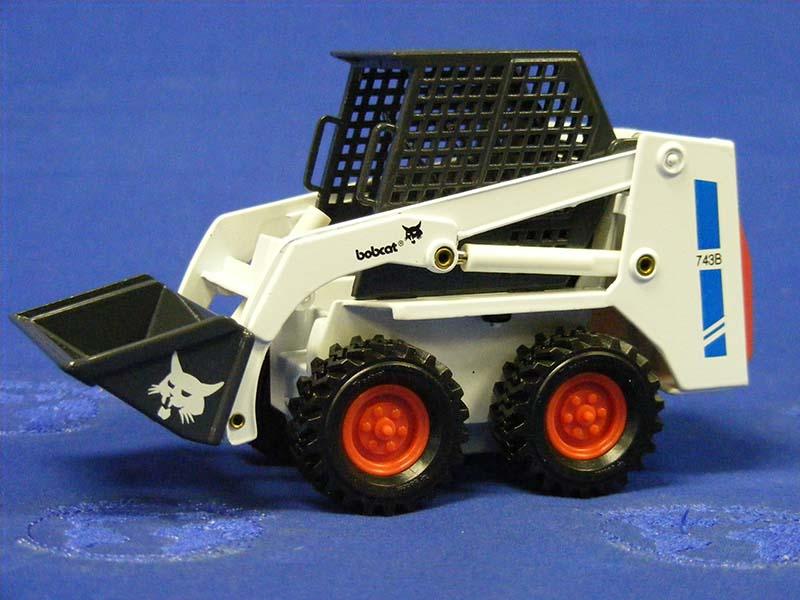 Buffalo Road Imports Bobcat 743b Skid Steer Loader Construction