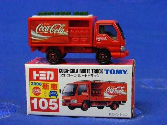 china Coca Cola trucks The calendar Building blocks   toys