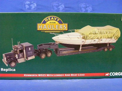 kenworth-w925-with-lowboy-and-boat-load-corgi-COR55709