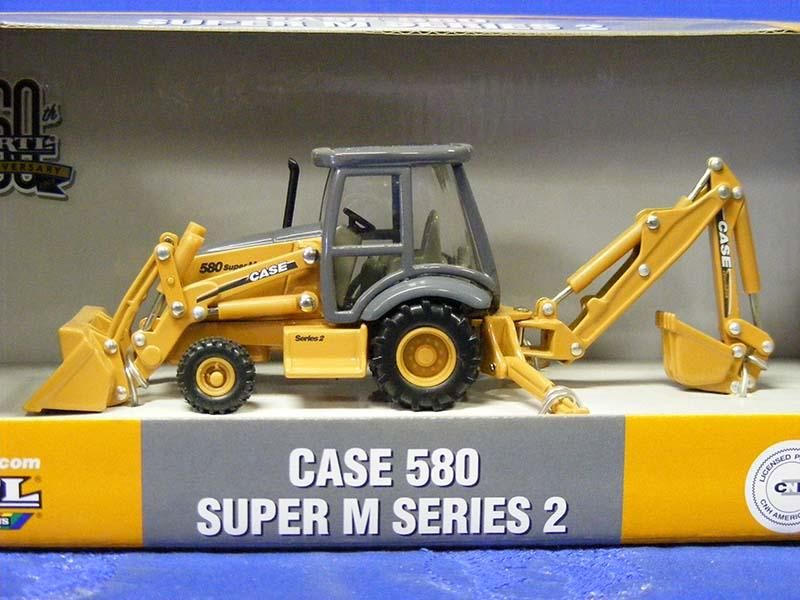 Case 580 Super M Series 2 tractor loader hoe