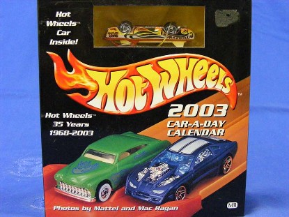 2003-car-a-day-calendar-w-car--HOT12613