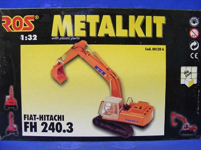 fiat-hitachi-fh240.3-excavator-kit-painted-metal--ros--srl-ROS00120