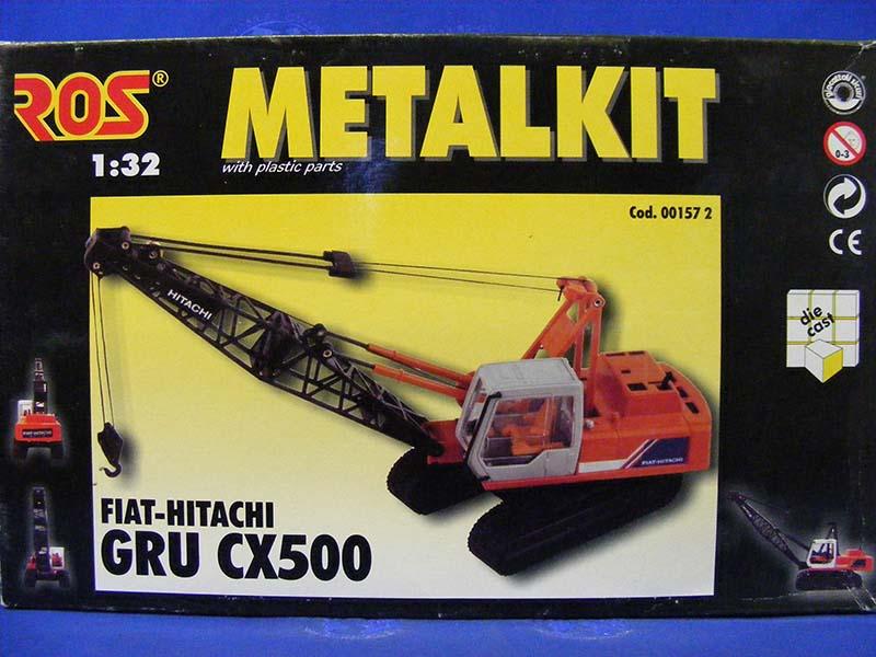 Fiat-Hitachi CX500 crawler crane painted metal kit