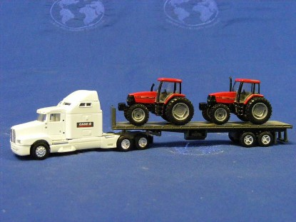 kenworth-semi-flatbed-w-tractors-case--ertl-ERT4212
