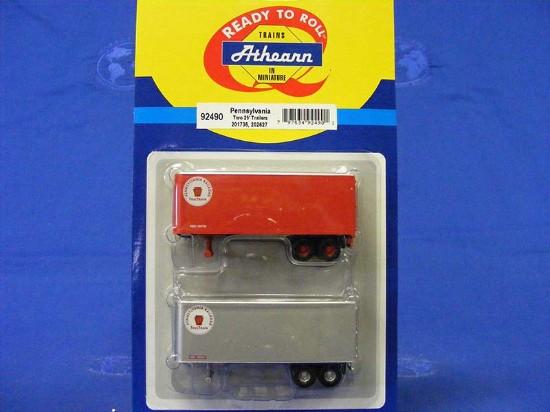 set-of-2-25-trailers--pennsylvania-rr-athearn-ATH92490