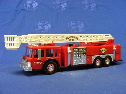 1995-sunoco-aerial-tower-fire-truck--2nd-in-series-gas-station-trucks-GST007
