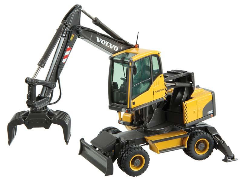 Volvo Ew160c Wheel Excavator