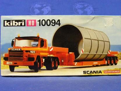 scania-tractor-w-lowloader-culvert--scheuerle-kibri-KIB10094