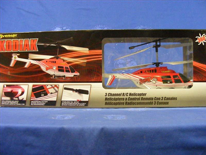 Buffalo Road Imports Venom Kodiak Helicopter Rc Radio Control