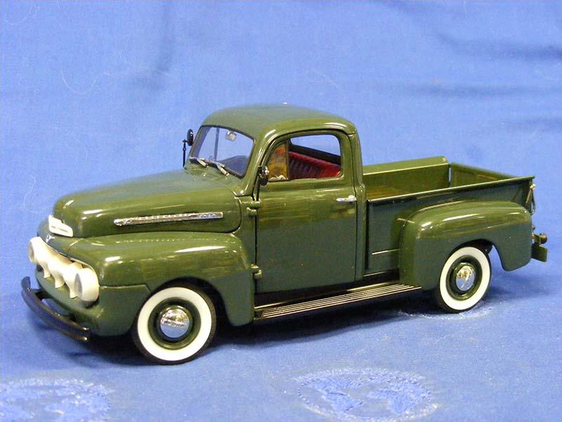 Ford F  Pickup Truck Green Danbury