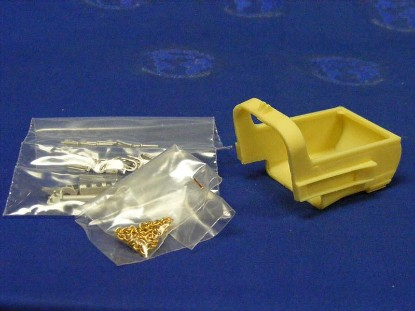 dragline-bucket-kit-45-parts-white-metal-resin-mo-miniatures-MOM307100