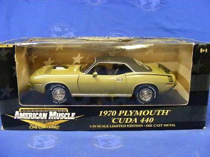 1970-plymouth-cuda-440-olive-green-ertl-ERT36671