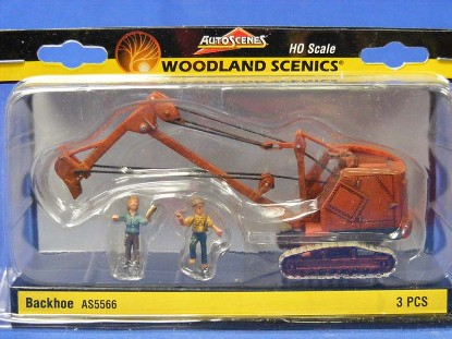 insley-k-cable-backhoe-with-2-figures-woodland-scenics-WDS5566