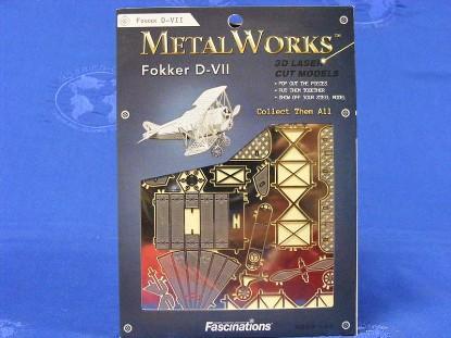 fokker-d-vll-bi-plane-fascinations-metal-works-FMW005