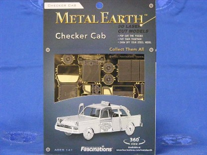 checker-cab-fascinations-metal-works-FMW007