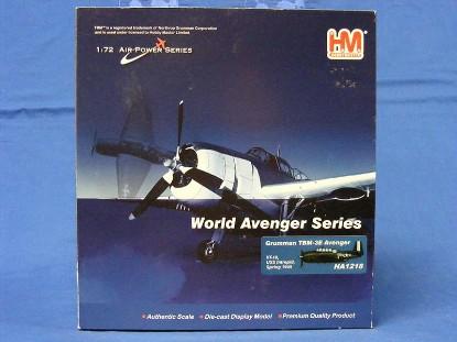 grumman-tbm-3e-avenger-vt-10-uss-intrepid-1945-hobbymaster-ltd-HOBHA1218