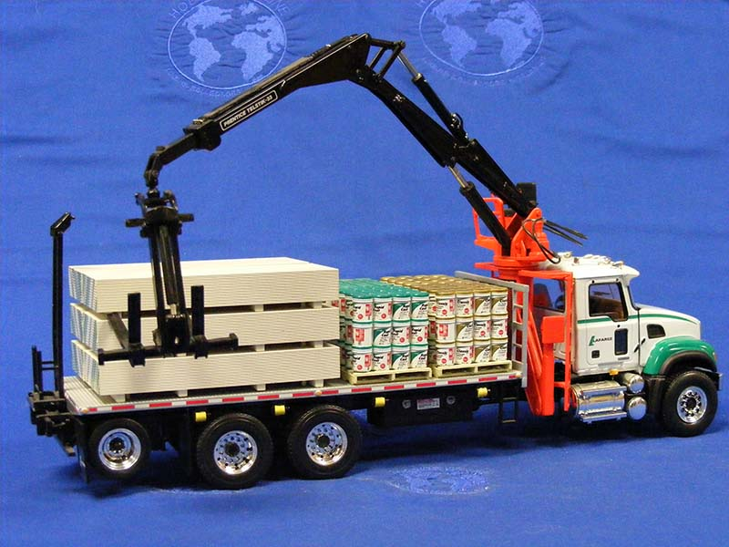 Buffalo Road Imports. Mack Granite boom truck with load ... on Granite Models  id=32579