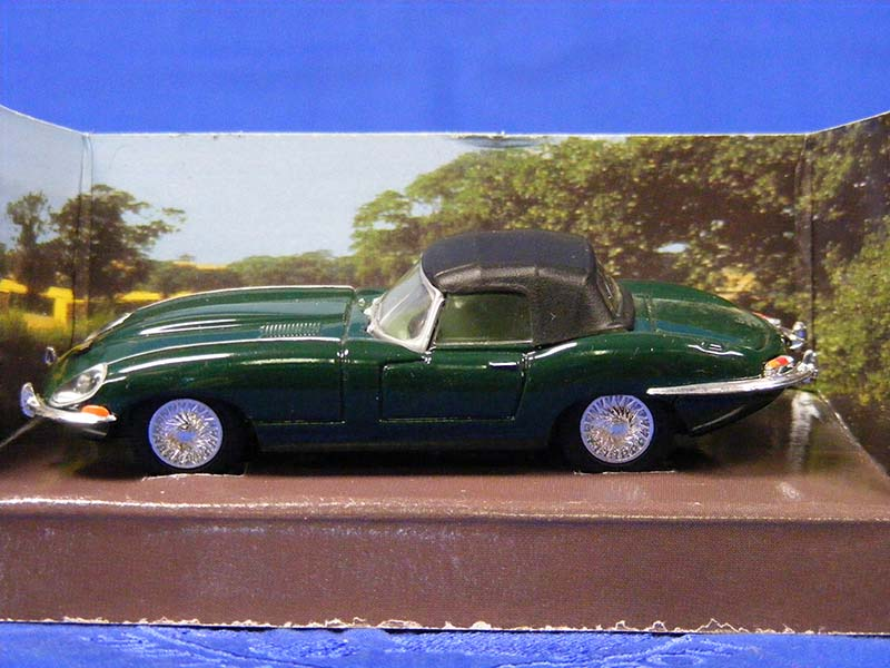 Buffalo Road Imports Jaguar E Type Soft Top Green Car Convertible