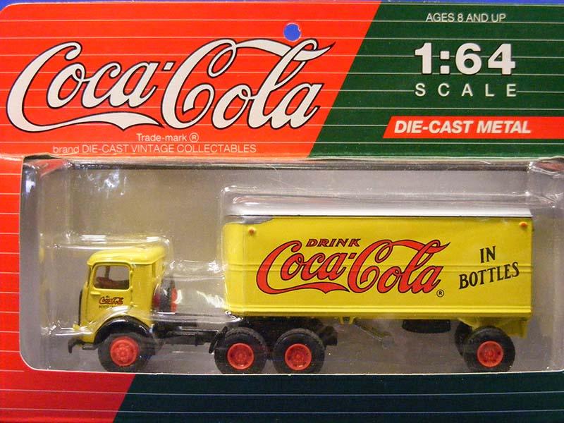 Buffalo Road Imports Mack Cj Semi Van Coca Cola Truck Van Diecast