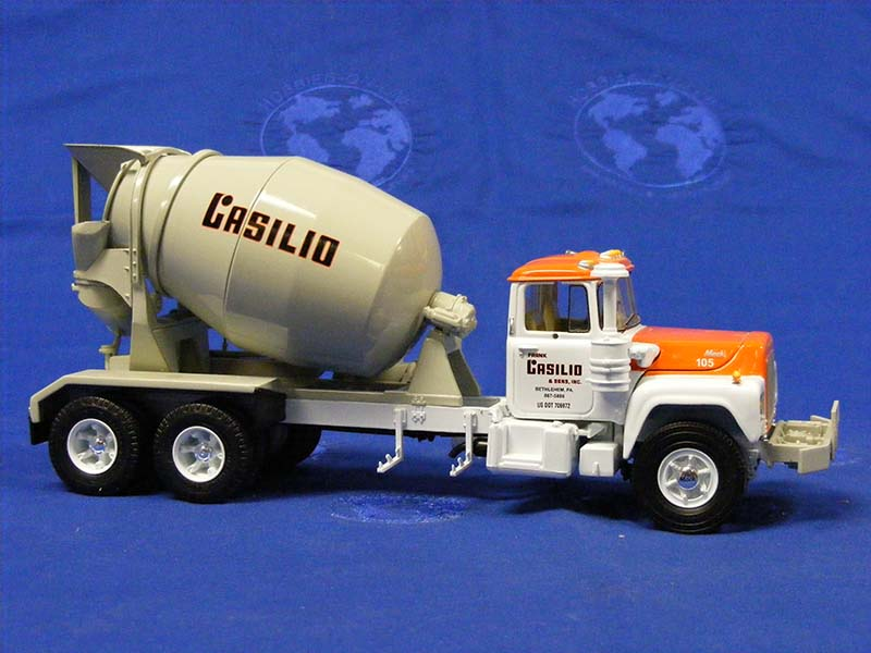 Mack R Cement Mixer Frank Casilio Sons First